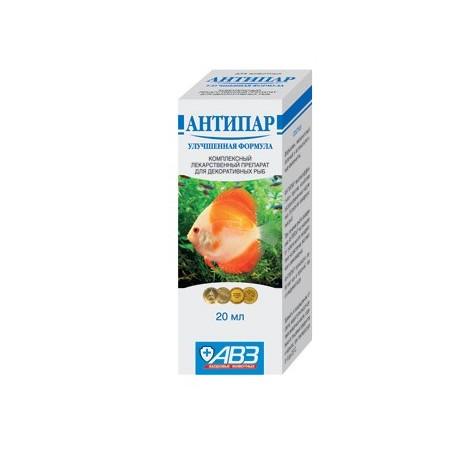 АНТИПАР (лекарство для аквариумных рыб)